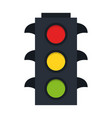 traffic lights symbol vector image