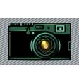 Luxury photo camera vector image