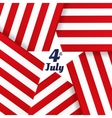 Independence day American card with inscription vector image
