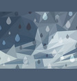 abstract grey background of raining day vector image vector image