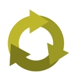 arrows recycle symbol icon vector image vector image
