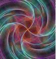 Computer generated digital art background vector image vector image