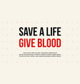 design background world blood donor day style vector image vector image