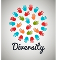 diversity people design vector image vector image