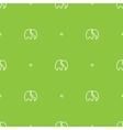 minimalistic elephant seamless pattern vector image