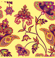 oriental seamless pattern floral background vector image