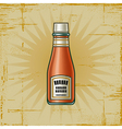 Retro Ketchup Bottle