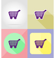 service flat icons 30 vector image vector image