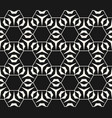 subtle geometric pattern with hexagonal grid vector image vector image