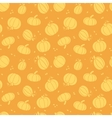 thanksgiving golden pumpkins seamless pattern vector image vector image