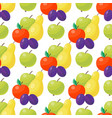 apple background textile green vector image