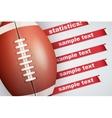 Background of Statistics American Football