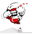 cool Santa Claus vector image