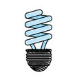 fluorescent lamp vector image vector image