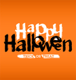 HappyHalloween vector image