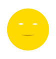 smiley flat icon vector image