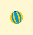 ball icon flat element of vector image