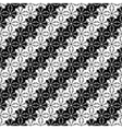 Design seamless monochrome lacy decorative pattern vector image vector image