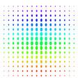 filled ellipse icon halftone spectral pattern vector image vector image