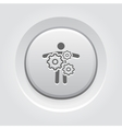 Key Person Icon Business Concept vector image