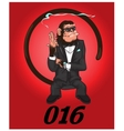 Monkey - agent of safety vector image vector image