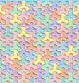 seamless abstract geometric pattern 3d easter vector image vector image