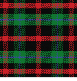 seamless pattern Scottish tartan vector image vector image