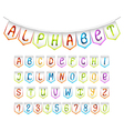 Bunting alphabet and numbers set