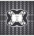 creative classic silver design background with sti vector image