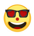 happy emoji lovely vector image vector image