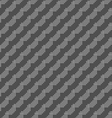Monochrome pattern with gray dotted diagonal lines vector image vector image