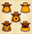 natural honey vector image vector image