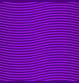 purple background wave effect neon glow vector image vector image