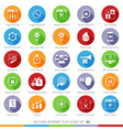 SEO icons set 03F vector image