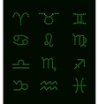 Set of Symbol Zodiac Sign vector image vector image
