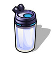 travel mug isolated on white background vector image vector image