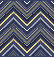 abstract zigzag pattern in luxury colors vector image