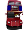al 0316 london bus vector image vector image