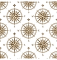 Compass seamless background pattern vector image vector image