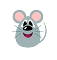 Cute cartoon mouse stylized funny monster vector image vector image