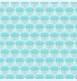 light blue menorah pattern vector image
