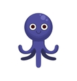 Octopus Simple Cartoon Character vector image vector image