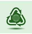 Recycle Symbol Isolated design element vector image vector image