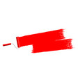 red paint background vector image vector image