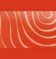 salmon fish steak fish raw meat texture vector image vector image
