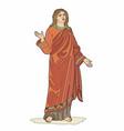 biblical character vector image