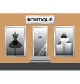 boutique vector image