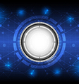 future digital concept technology background vector image vector image