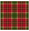 Green Tartan Design vector image