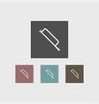 hacksaw icon simple vector image vector image